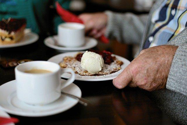 Cafe Krümel Treffen für Alt und Jung
